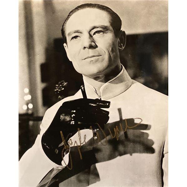 Dr. No Joseph Wiseman signed movie photo