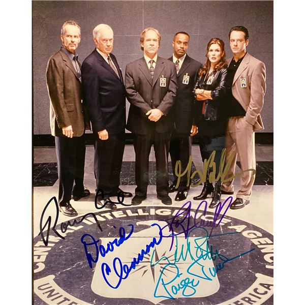 The Agency cast signed photo