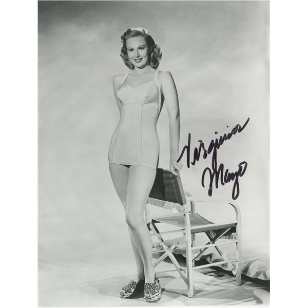Virginia Mayo signed photo