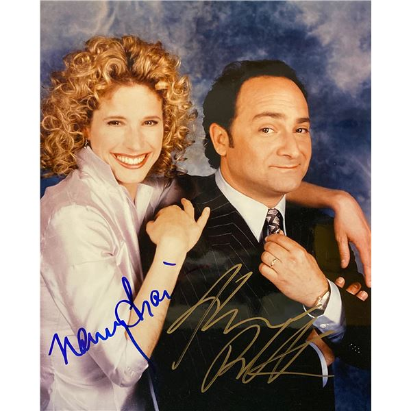 Work With Me Kevin Pollak and Nancy Travis signed photo