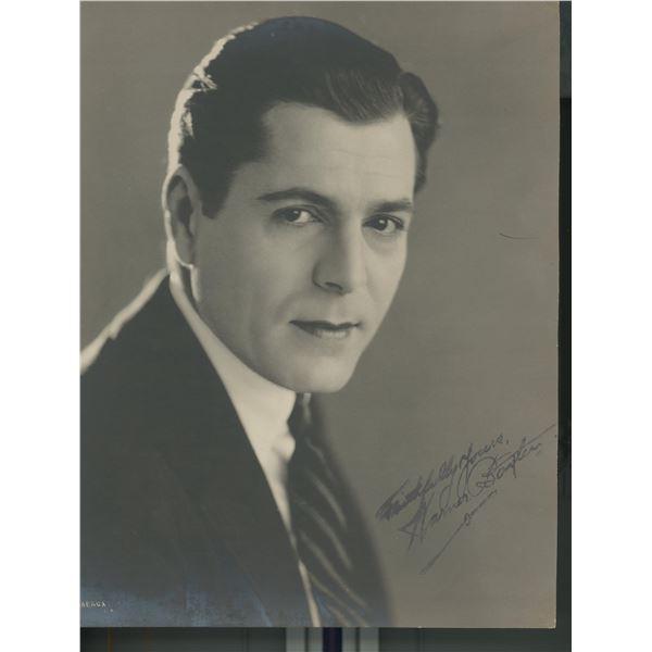 Warner Baxter signed photo