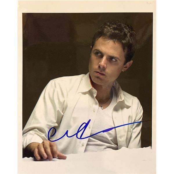 Casey Affleck signed photo