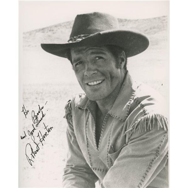 Robert Horton signed photo