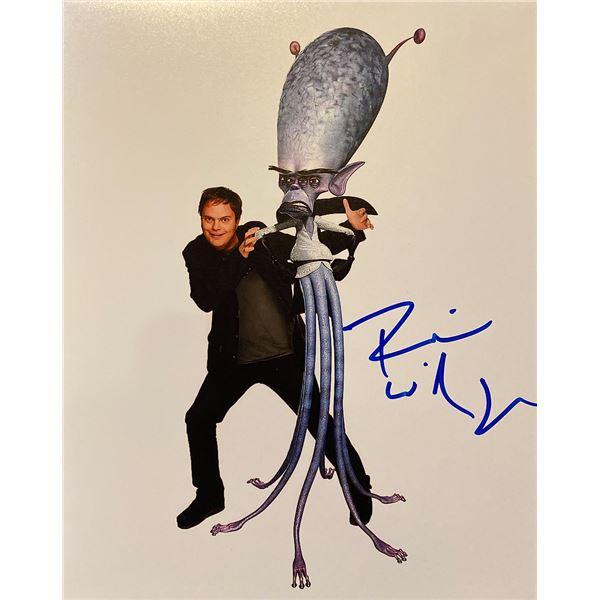 Monsters vs. Aliens Rainn Wilson signed movie photo