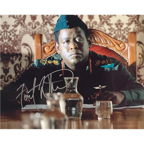 The Last King of Scotland Forest Whitaker signed movie photo