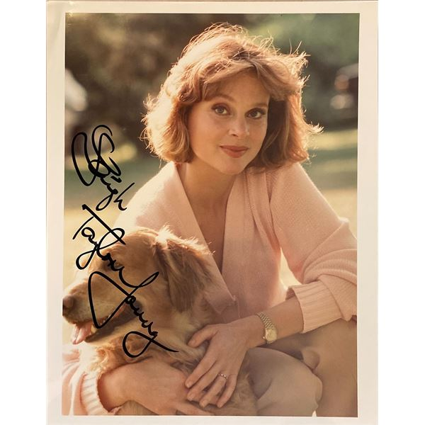 Leigh Taylor-Young signed photo