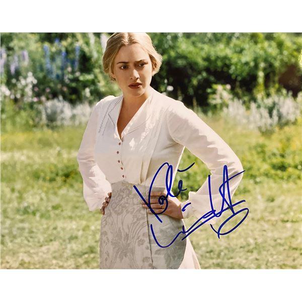 Finding Neverland Kate Winslet signed movie photo