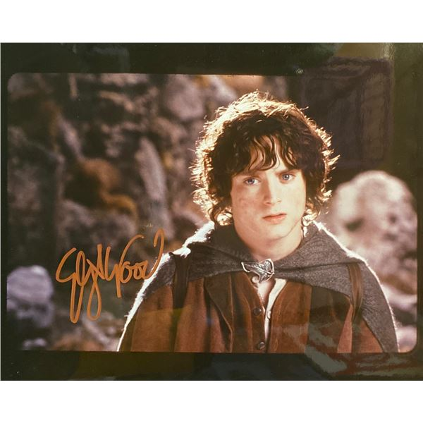 The Lord of the Rings Elijah Wood signed movie photo