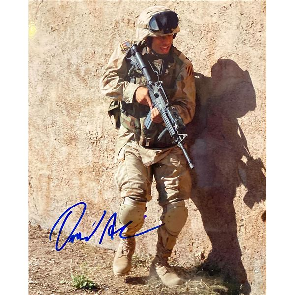 Over There Omid Abtahi signed photo