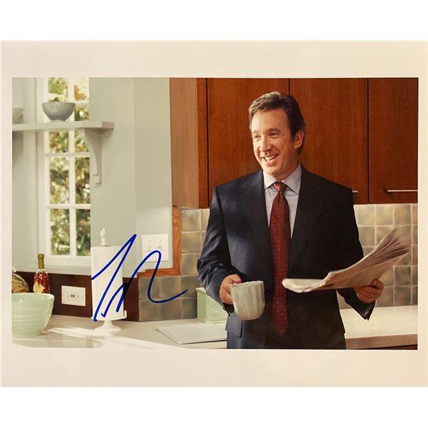 Tim Allen signed photo