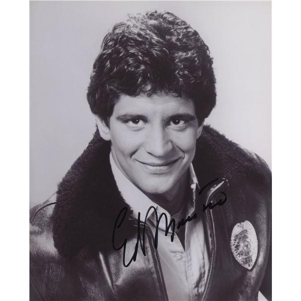 """Ed Marinaro signed """"Hill Street Blues"""" TV photo"""