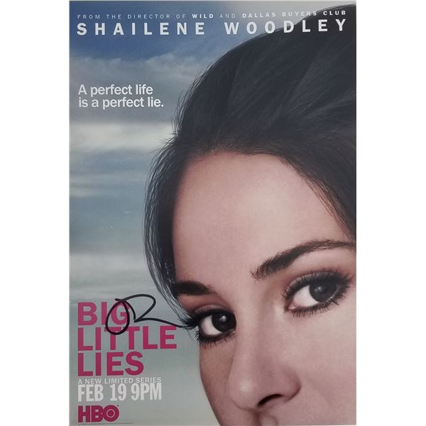 "Shailene Woodley signed ""Big Little Lies"" photo"