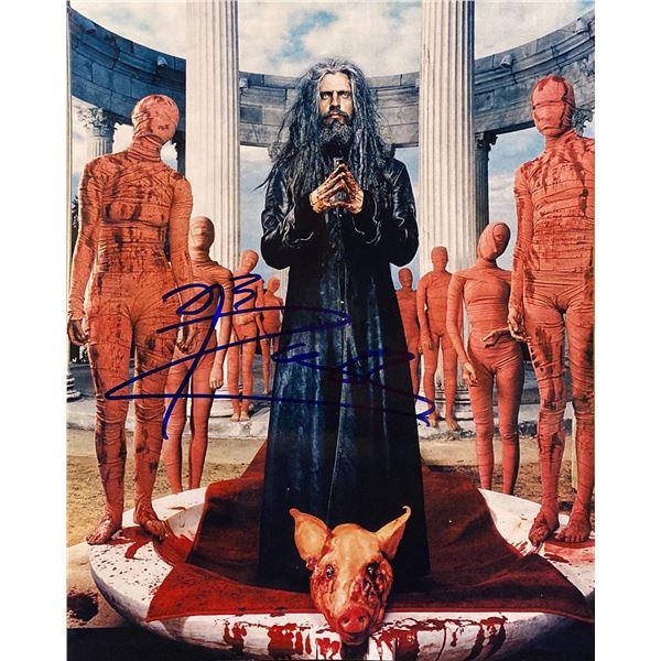 Rob Zombie signed photo