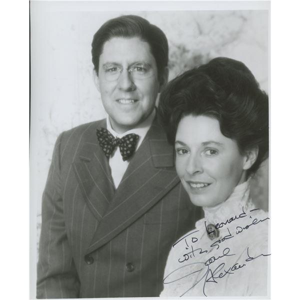 "Jane Alexander signed ""Eleanor and Franklin"" movie photo"