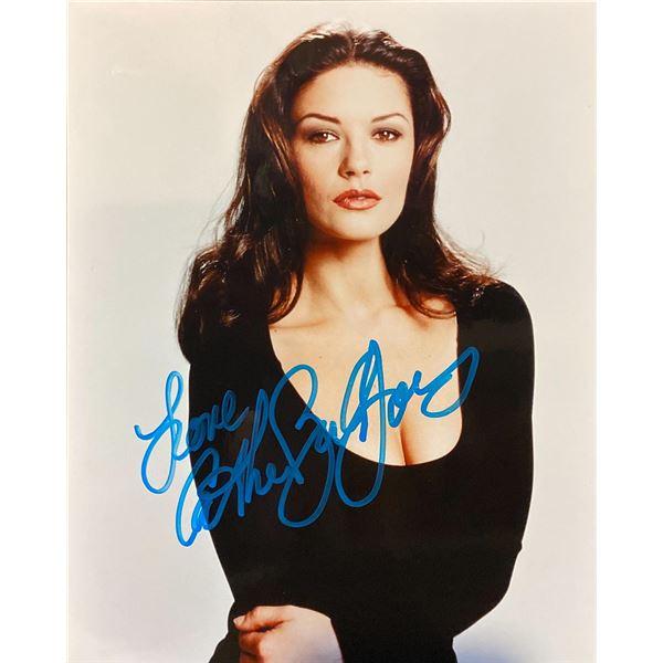 Catherine Zeta-Jones signed photo