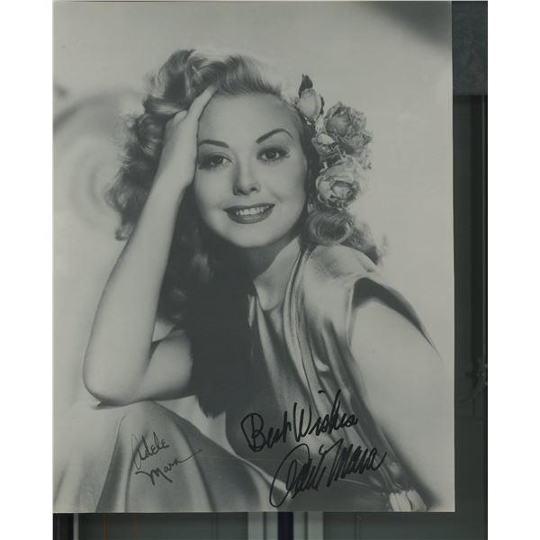 Adele Mara signed photo