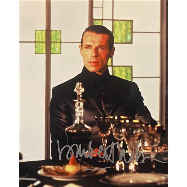 The Matrix Reloaded Lambert Wilson signed movie photo
