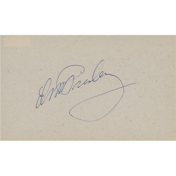 Elvis Presley signature cut