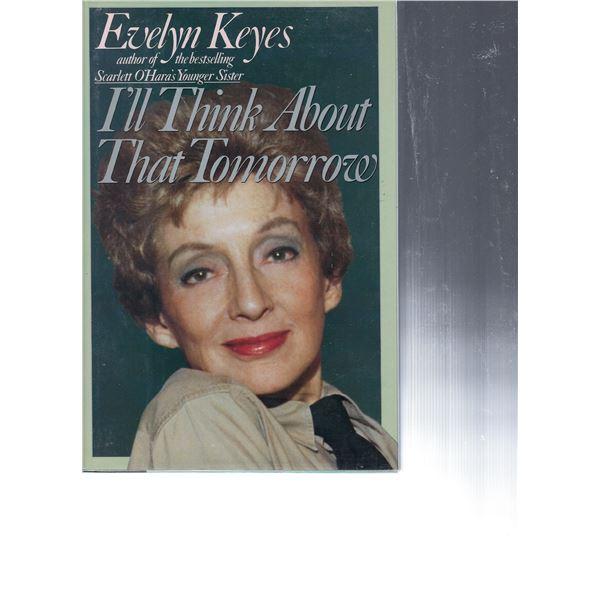 Evelyn Keyes signed book