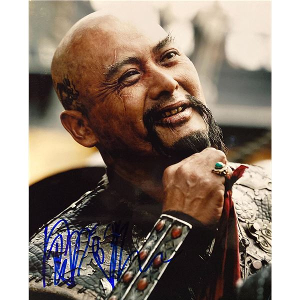 Pirates of the Caribbean: At World's End Chow Yun-fat signed movie photo