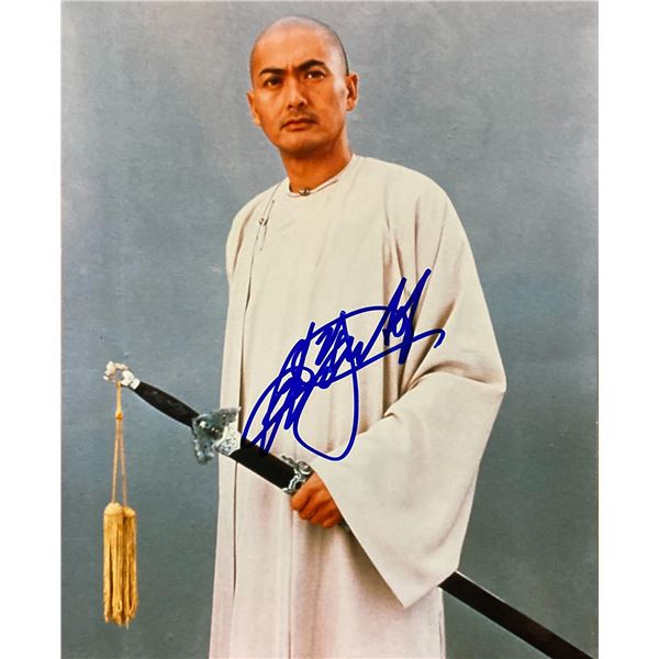 Crouching Tiger, Hidden Dragon Chow Yun-fat signed movie photo
