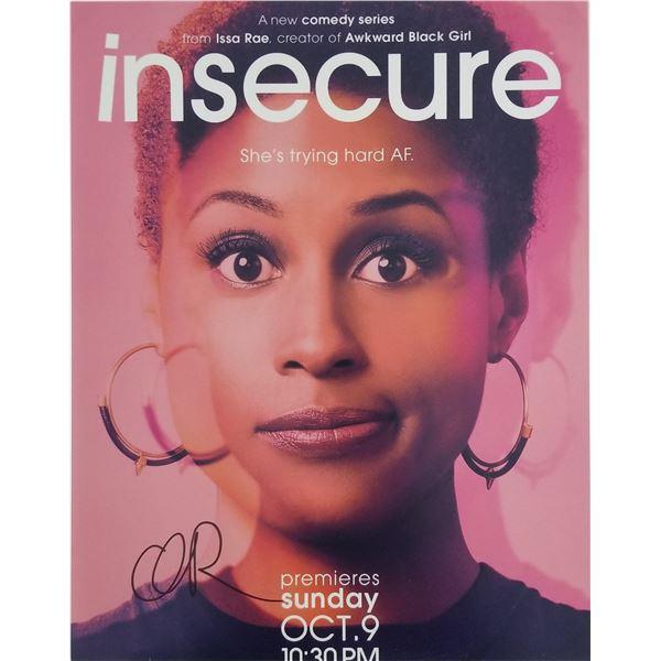 Issa Rae signed magazine