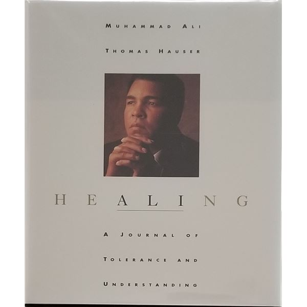 Muhammad Ali Healing signed book