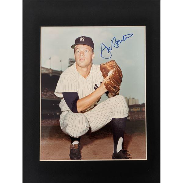 Jim Bouton Hand Signed Vintage Photo