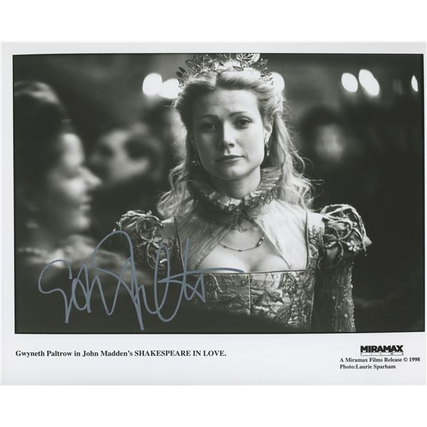 Gwyneth Paltrow Shakespeare in Love signed movie photo
