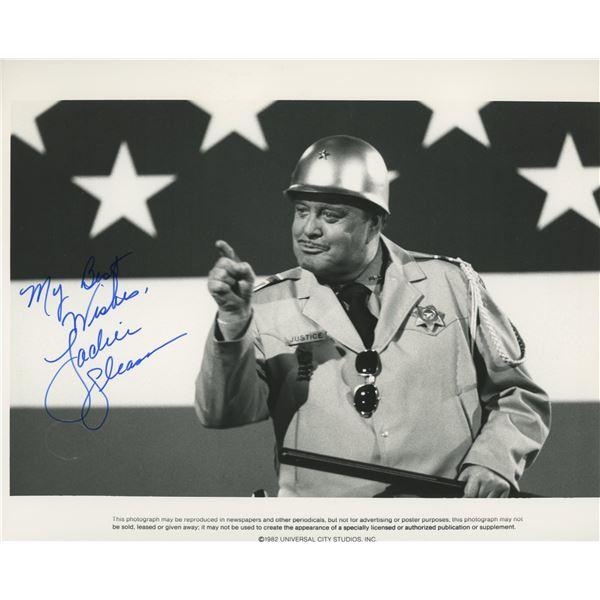 Jackie Gleason signed photo
