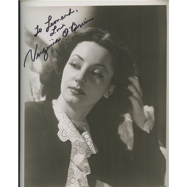 Virginia O'Brien signed movie photo