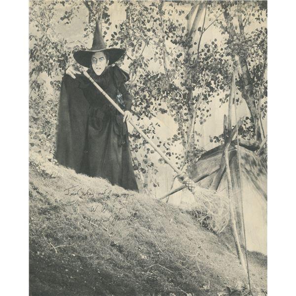 Wizard of OZ Margaret Hamilton signed photo