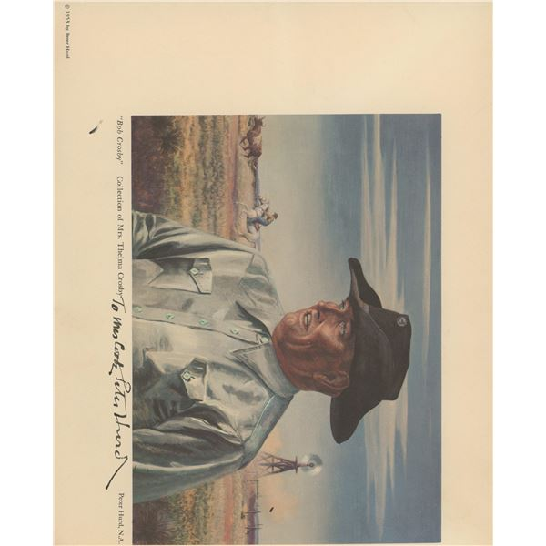 Peter Hurd artist signed print
