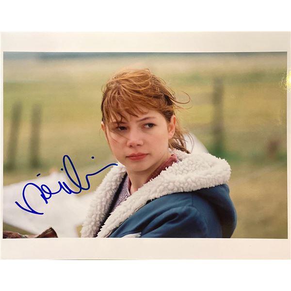 Brokeback Mountain Michelle Williams signed movie photo