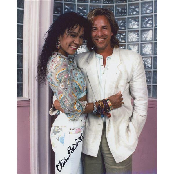 Miami Vice Olivia Brown signed photo