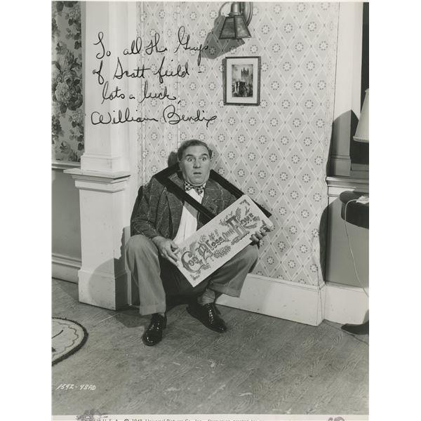 William Bendix signed photo.