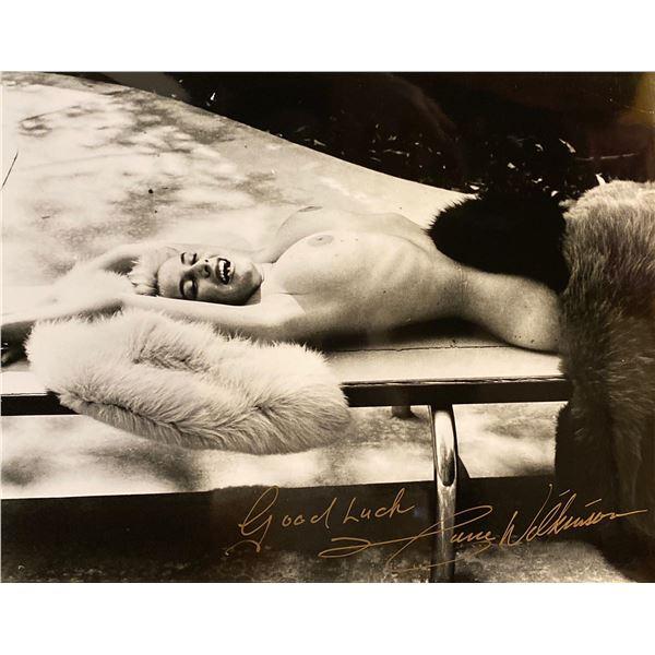 June Wilkinson signed photo