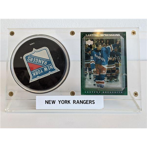Wayne Gretzky NY Rangers encased set