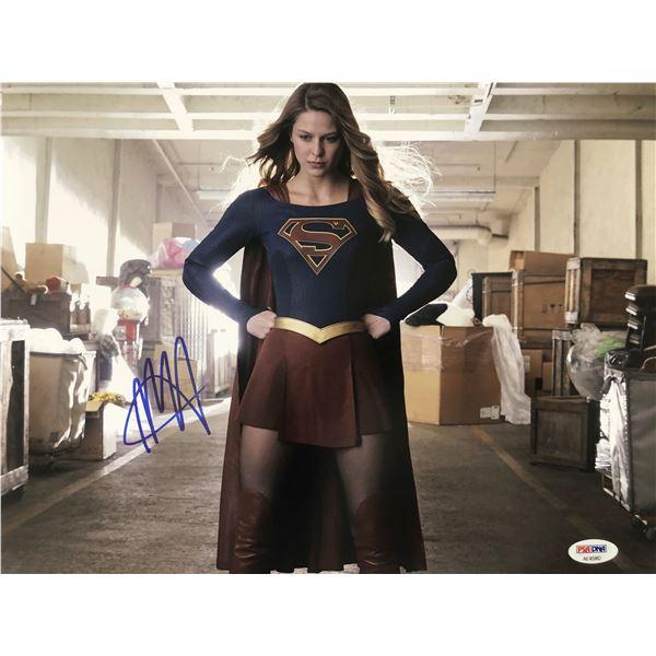 Supergirl Melissa Benoist signed photo_ PSA DNA