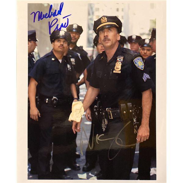 World Trade Center Nicolas Cage and Michael Peña signed movie photo