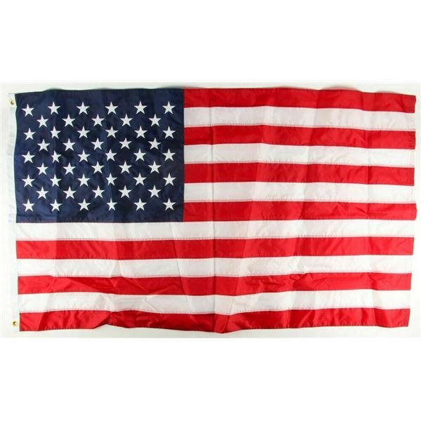United States Flag Flown Over US Capitol July 16th 1986