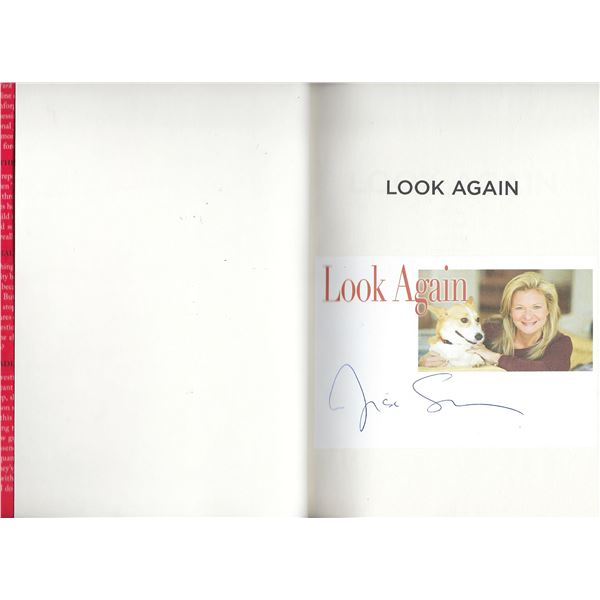 Look Again Lisa Scottoline signed book
