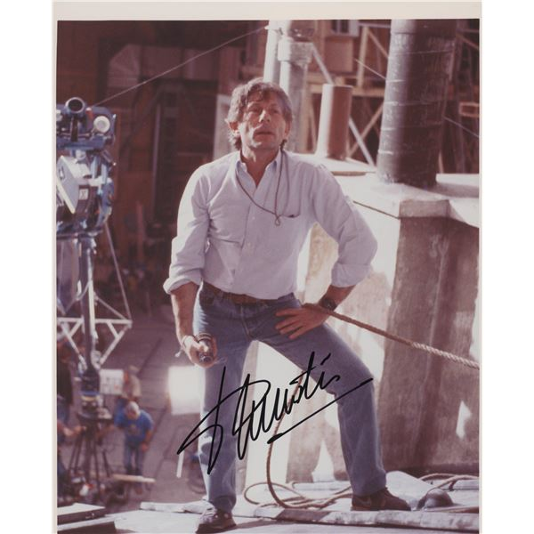 Roman Polanski signed photo