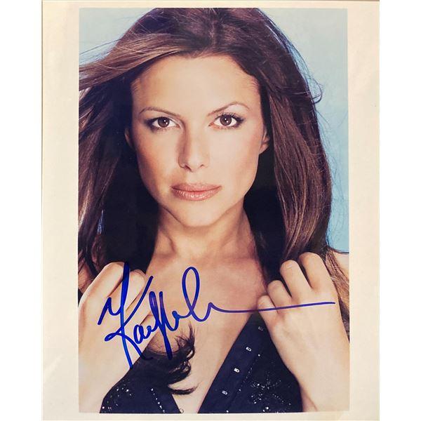 Kari Wuhrer signed photo