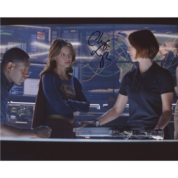 """Chyler Leigh signed """"Supergirl"""" television photo"""