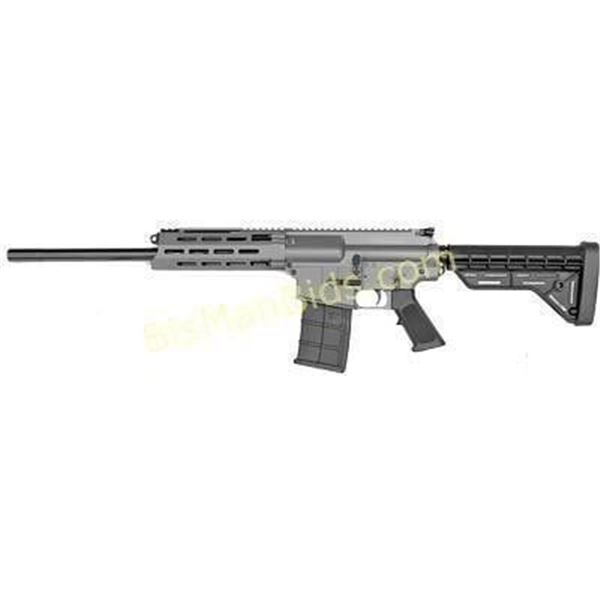 "JTS M12AR 12GA 18.7"" 5RD MLOK GRY"