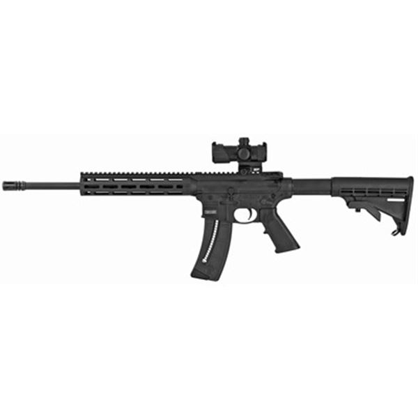 """S& W M& P15-22 22LR 16"""" 25RD BLK OR"""