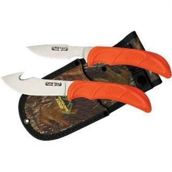 ODE WILD PAIR 2 KNIFE COMBO CLAM