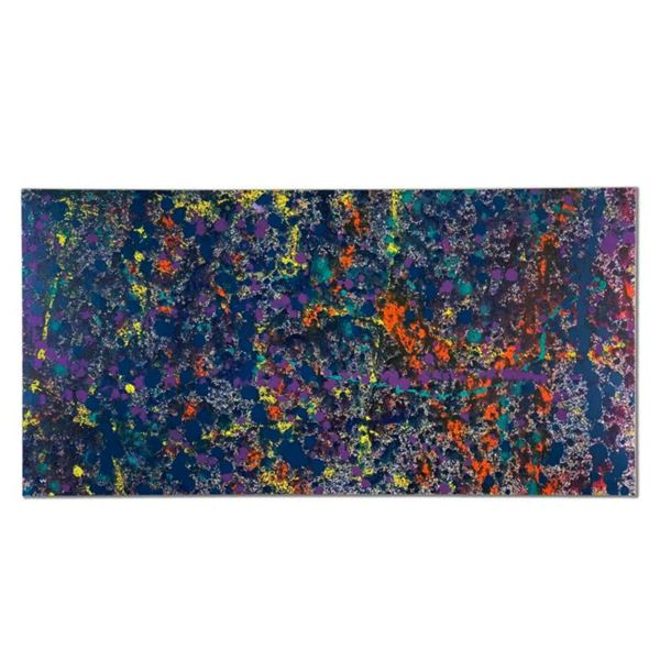 """Wyland, """"Coral 5.1"""" Hand Signed Original Painting on Canvas with Letter of Authenticity."""