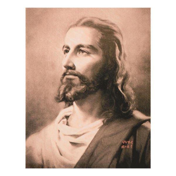 "Ringo Daniel Funes (Protege of Andy Warhol's Apprentice, Steve Kaufman), ""Jesus"" One-of-a-Kind Hand"